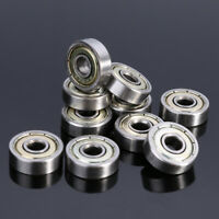10pcs 625ZZ 5mm*16mm*5mm Carbon Steel Single Row Deep Groove Radial Ball Bearing