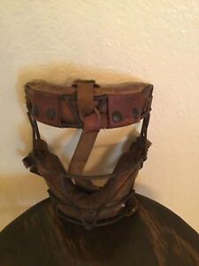 Catchers Mask 1930's SpitterSUPER Old, Vintage Early Antique Hutch M50