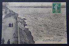 CPA Carte postale NANTES Les glaces en Loire Vue vers le pont de la Vendée