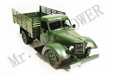 Handmade1956-86 China Jiefang Military Truck Tinplate Antique Style Metal Mode