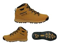 HENLEYS DLX Men's Travis Lace Up High Top Outdoor Hiking Walking Casual Boots