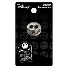 NIGHTMARE BEFORE CHRISTMAS BARREL PEWTER LAPEL PIN
