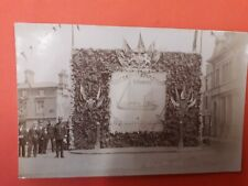 Lincolnshire postcard COUNY SHOW GRIMSBY 1904 Riby square RP trawler