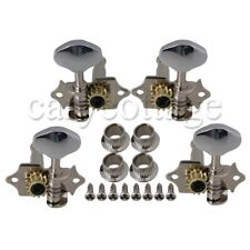 4pcs 2R2L Chrome Tuning Pegs Machine Heads for Ukulele 4 String Guitar Bass