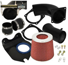 1996-2004 Ford Mustang V8 4.6L Black Piping Cold Air Intake System W/ Filter