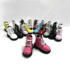 MSD 1/4 Bjd Doll Shoes 7.5cm High Hill Boots Cherry (Foot Size 5.6cm) SHM049CHY