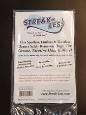 Streak-Less Microfiber Cloth Lint-free Cleans Polishes Glass & Other Surfaces