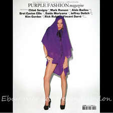 Purple Fashion Magazine #14 Fall/Winter 2010/2011 Chloe Sevingy Kim Gordon