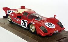 Brumm 1/43 Scale R200 Ferrari 512S 24H Daytona 1970 #28 Diecast Model Car