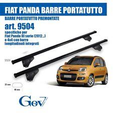 e6a27060c0 BARRE PORTATUTTO PORTAPACCHI PREMONTATE GEV 9504 FIAT PANDA III SERIE 12> E  4X4
