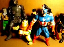 Marvel Captain America 1996 Vintage Rare Toys + Misc Playmates Toy Collection