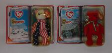 Ty Teenie Beanie Baby International Bears II Lot Plush Sealed McDonalds 2000