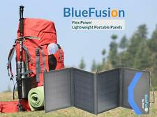 BlueFusion Portable Folding Solar Panel Charger 50W, 100W, 120W