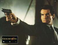12 Photos Cinéma 21x27.5cm (1995) GOLDENEYE / JAMES BOND 007 Pierce Brosnan TBE