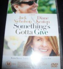 Something's Gotta Give (Jack Nicholson Dianne Keaton) (Aust Region 4) DVD – New