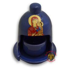 Orthodox Ceramic Traditional Oil Candle 4 Colours Ikonenampel Votivlicht Ikone