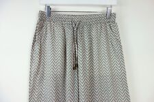 Lollys Laundry Wide Leg Trousers Zig Zag Printed Trousers