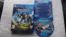 Horizon zéro Dawn PLAYSTATION 4 PS4 V.G.C. Fast Post (+ contrôle notice)