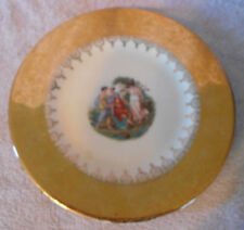 Edgewood China 22 Karat Gold 10 inch Plate with 4 Ladies Women Offering Gifts