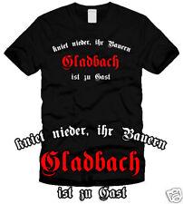 GLADBACH - Kniet nieder - Fan-T-Shirt - Ultras - S-XL