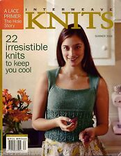 INTERWEAVE KNITS Summer 2006 Lace Icarus Shawl Lotus Tank Top Twinkle