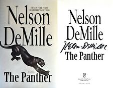 Nelson DeMille~SIGNED~The Panther~1st/1st~HC~BEAUTIFUL +