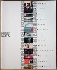 Zeitgenössische Fotokunst aus den Niederlanden. NBK / Braus, 1996. R. Dijkstra