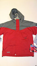 QUIKSILVER Boy's RIDERS ON THE STORM Snow Jacket - Medium - Red - NWT