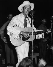American Country Singer HANK WILLIAMS SR Glossy 11x14 Photo Poster Print
