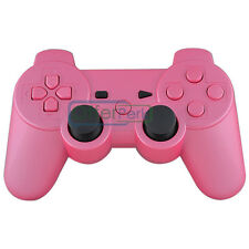 Customs for PS3 Controller Shell Glossy Pink With Matching Buttons + Free Tools