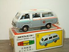 Toyota Hiace Japan Air Lines - Diapet Yonezawa Toys Japan 1:40 in Box *34305