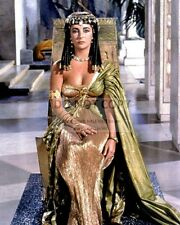 "ELIZABETH TAYLOR IN THE 1963 FILM ""CLEOPATRA"" - 8X10 PUBLICITY PHOTO (DD330)"