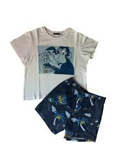 Disney/'S IL RE LEONE PIGIAMA T-SHIRT O Flanella Leggings Taglie 4-20