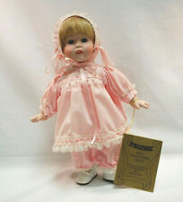 "Seymour Mann Porcelain Doll 1986 Connoisseur Collection 13"" Light Hair S9108"