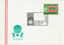 A 1975/6 3 versch. SST ROTARY CLUB: 1150 WIEN, 5010 SALZBURG, 8904 ARDNING