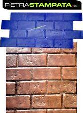 STAMPO per pavimento stampato cemento FINTA PIETRA Concrete texture stamp mat
