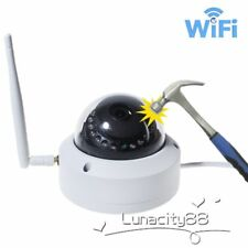 Wireless WIFI HD 720P IP Camera ONVIF Outdoor Security Night Vision Vandalproof