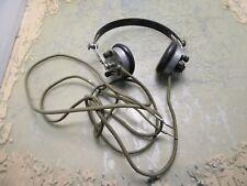 vintage O. Brunet 2000 headphones headset [4*D-34.5]