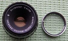VERY RARE MEYER-OPTIK GORLITZ 50mm f2.8 PRIMOTAR M42 SCREW THREAD