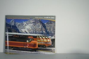 K-Line by Lionel 2008 Volume 1 Catalog - Free Shipping