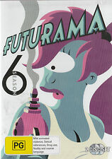 Futurama Series 6 Brand New but UNSEALED Region 4  Lots of Extras!
