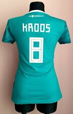 Germany 2018 Away World cup football Adidas women shirt size S #8 Kroos