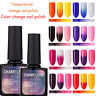 New BELLE FILLE Chameleon Temperature Color Change Nail Gel Polish Soak-off UV