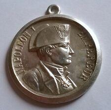 FRANCE: Médaille Empereur Napoléon Ier, diamètre: 40 mm, poids: 7 gr en alu.