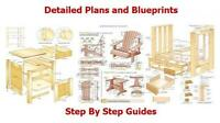 12,600 DIY WOODWORKING PLANS. SHEDS, HOUSES,CABINS, GREENHOUSES