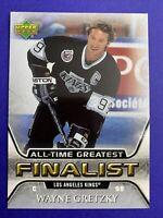 2005-06 Upper Deck NHL Finalist All-Time Greatest #27 Wayne Gretzky LA Kings