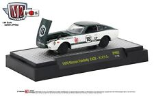 1:64 M2 Machines *AUTO-JAPAN R2 JPN02* GREEN & WHTIE 1970 Nissan Fairlady Z432