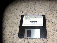 "Supra WinICU Diagnostic Disk MS-DOS 3.5"" disk"