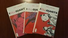 I KILL GIANTS 5 - 7  MOVIE COMING!! HTF RARITY!  NM OR BETTER COND!!