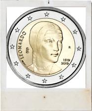 2 EURO *** Italy 2019 Italië *** Leonardo da Vinci !!!